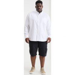Koszule męskie na spinki: BAD RHINO OXFORD PLUS Koszula white
