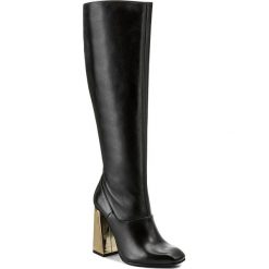 Kozaki EVA MINGE - Lucinde 2B 17BL1372252EF 101. Czarne buty zimowe damskie Eva Minge, ze skóry. W wyprzedaży za 449,00 zł.