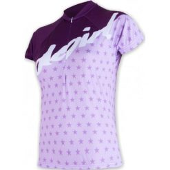 Sensor Damska Koszulka Rowerowa Cyklo Stars Purple. Fioletowe bluzki sportowe damskie marki Sensor. Za 179,00 zł.
