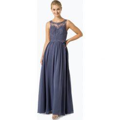 Laona - Damska sukienka wieczorowa, lila. Szare sukienki balowe marki Laona, s, w koronkowe wzory, z koronki. Za 749,95 zł.