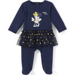 Bielizna dziewczęca: Piżama jedoczęściowa z nadrukiem Minnie Mouse, z falbanką