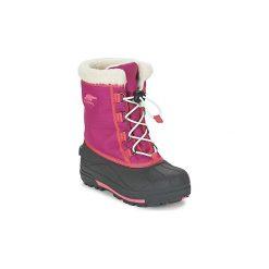 Śniegowce Dziecko Sorel  YOUTH CUMBERLAND. Czerwone buty zimowe chłopięce Sorel. Za 231,20 zł.