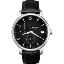 PROMOCJA ZEGAREK TISSOT T-Classic T063.639.16.057.00. Czarne zegarki męskie TISSOT, ze stali. W wyprzedaży za 1478,40 zł.