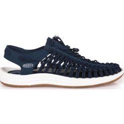 Sandały męskie: Keen Sandały męskie Uneek Limited Edition kolor Estate Blue/White roz. 44.5 (UNEEK-MN-EBWH)