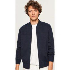 Bluza bomber - Granatowy. Czerwone bluzy męskie marki KALENJI, m, z elastanu, z długim rękawem, długie. Za 119,99 zł.