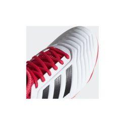 Trampki Dziecko  adidas  Buty Predator 18.3 FG. Czarne trampki chłopięce marki Adidas, z materiału. Za 134,50 zł.