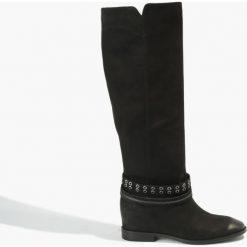 Kozaki czarne Alegra. Czarne buty zimowe damskie Badura. Za 300,99 zł.