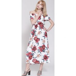 Sukienki: Biała Sukienka Summer Mood
