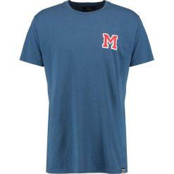 T-shirty męskie z nadrukiem: Mads Nørgaard THOR Tshirt z nadrukiem denim