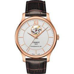 PROMOCJA ZEGAREK TISSOT RADITION POWERMATIC 80 OPEN-HEART T063.907. Szare zegarki męskie TISSOT, ze stali. W wyprzedaży za 2622,40 zł.