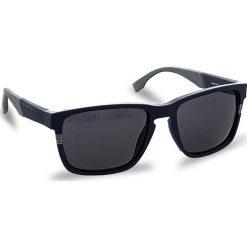 Okulary przeciwsłoneczne BOSS - 0916/S Mtblue Grey 1X4. Niebieskie okulary przeciwsłoneczne damskie marki Boss. W wyprzedaży za 499,00 zł.