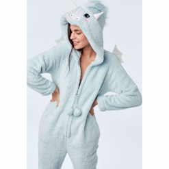Etam - Kombinezon piżamowy. Szare piżamy damskie Etam, l, z dzianiny. Za 219,90 zł.