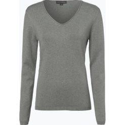 Swetry damskie: Franco Callegari - Sweter damski z dodatkiem kaszmiru, zielony