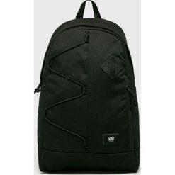 Vans - Plecak. Czarne plecaki męskie Vans, z materiału. W wyprzedaży za 179,90 zł.