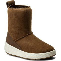 Buty zimowe damskie: Buty ECCO - Ukiuk 22100355778 Cocoa Brown/Cocoa Brown
