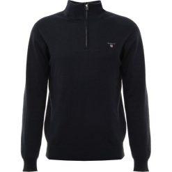 GANT ZIP Sweter navy. Niebieskie swetry klasyczne męskie GANT, m, z bawełny. Za 549,00 zł.