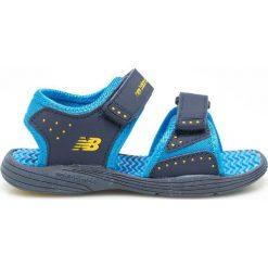 New Balance - Sandały dziecięce. Szare sandały chłopięce marki New Balance, z materiału. W wyprzedaży za 89,90 zł.
