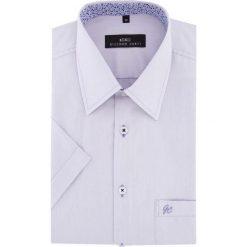 Koszula FABIO 15-11-39-K. Brązowe koszule męskie marki QUECHUA, m, z elastanu, z krótkim rękawem. Za 199,00 zł.
