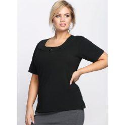 T-shirty damskie: Czarny T-shirt Subtype