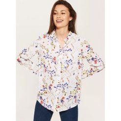 Koszula z wiskozy - Różowy. Niebieskie koszule damskie marki House, m. W wyprzedaży za 29,99 zł.