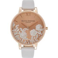 Olivia Burton LACE DETAIL Zegarek blush. Czerwone, analogowe zegarki damskie Olivia Burton. Za 509,00 zł.