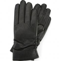 Rękawiczki damskie 39-6-535-1. Czarne rękawiczki damskie Wittchen, z polaru. Za 99,00 zł.