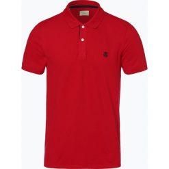 Selected - Męska koszulka polo – Slharo, czerwony. Szare koszulki polo marki Selected, l, z materiału. Za 79,95 zł.