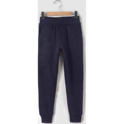 Spodnie dresowe 3 - 12 lat. Szare spodnie chłopięce La Redoute Collections, z bawełny. Za 54,56 zł.