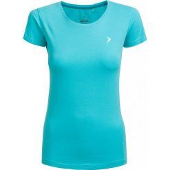 T-shirt damski  TSD600 - mięta - Outhorn. Brązowe t-shirty damskie Outhorn, z bawełny. W wyprzedaży za 24,99 zł.
