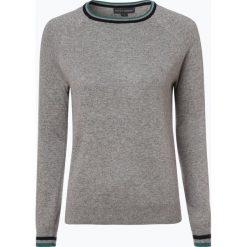 Swetry klasyczne damskie: Franco Callegari - Sweter damski z dodatkiem alpaki, szary