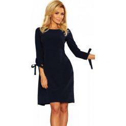 Numoco Sukienka Damska L Ciemny Niebieski. Czarne sukienki z falbanami marki Fille Du Couturier. Za 209,00 zł.