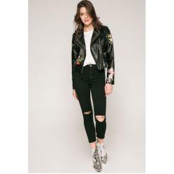 Haily's - Jeansy Celia. Białe jeansy damskie rurki Haily's, z podwyższonym stanem. W wyprzedaży za 99,90 zł.