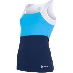Sensor Koszulka Termoaktywna Na Ramiączkach Infinity Blue/White S. Białe t-shirty damskie Sensor, na lato, s, na ramiączkach. Za 165,00 zł.
