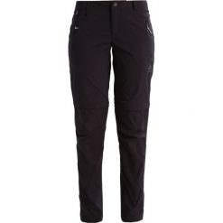 ODLO WEDGEMOUNT         Spodnie materiałowe black. Czarne bryczesy damskie Odlo, z elastanu. Za 419,00 zł.