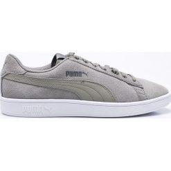 Puma - Buty Smash V2. Szare buty skate męskie Puma, z materiału, na sznurówki. W wyprzedaży za 179,90 zł.
