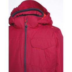 CMP SNAPS  Kurtka narciarska magenta. Czerwone kurtki dziewczęce sportowe CMP, z materiału, narciarskie. W wyprzedaży za 239,20 zł.