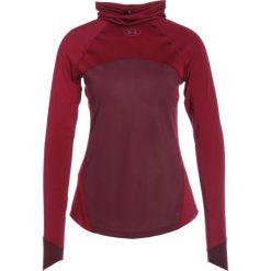 Under Armour REACTOR RUN FUNNEL Koszulka sportowa black currant. Czarne topy sportowe damskie marki Under Armour, m, z elastanu. W wyprzedaży za 279,20 zł.