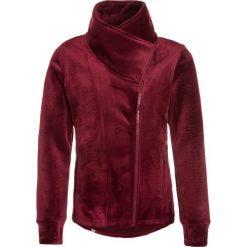 Bench GIRLS BIKER Bluza rozpinana cabernet. Czerwone bluzy dziewczęce rozpinane marki Bench, z elastanu. W wyprzedaży za 174,30 zł.