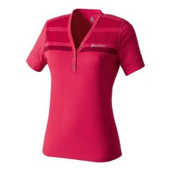 Odlo Koszulka s/s v-neck BLENDA czerwona r. S. Czerwone t-shirty damskie Odlo, s. Za 199,95 zł.