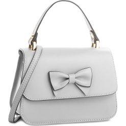 Torebka CREOLE - K10527 Szary. Szare torebki klasyczne damskie Creole, ze skóry. W wyprzedaży za 149,00 zł.
