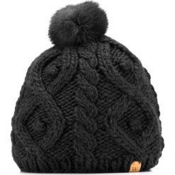 85-HF-009-1 Czapka damska. Czarne czapki damskie Wittchen, na zimę, z dzianiny. Za 59,00 zł.