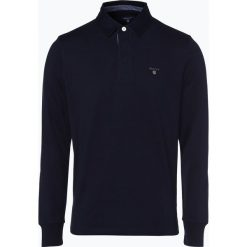 Gant - Męska bluza nierozpinana, niebieski. Niebieskie bluzy męskie rozpinane marki GANT. Za 379,95 zł.