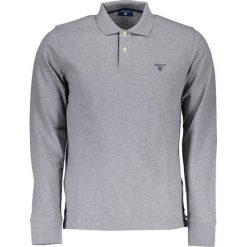 Koszulka polo w kolorze szarym. Szare bluzki longsleeves marki GANT, xs, polo. W wyprzedaży za 179,95 zł.
