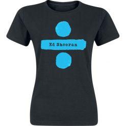 Sheeran, Ed Divide Logo Koszulka damska czarny. Czarne bluzki damskie Sheeran, Ed, m. Za 74,90 zł.