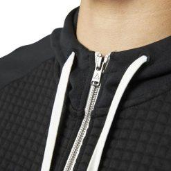 BLUZA REEBOK QUILTED CD9285. Czarne bluzy męskie marki Reebok, m. Za 229,00 zł.