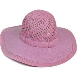 Kapelusz damski Natural beauty różowy. Czerwone kapelusze damskie Art of Polo. Za 36,52 zł.