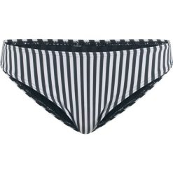 Figi bikini bonprix czarno-biały w paski. Białe bikini bonprix, w paski. Za 16,99 zł.