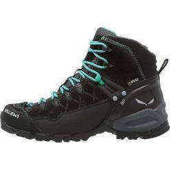 Buty zimowe damskie: Salewa ALP TRAINER MID GTX Buty trekkingowe black out/agata