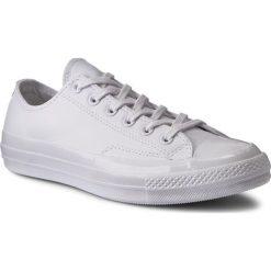Trampki CONVERSE - Ctas 70 Ox 155455C White/White/Whi. Białe tenisówki męskie Converse, z gumy. W wyprzedaży za 299,00 zł.