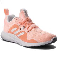 Buty adidas - Edgebounce W AC7104 Cleora/Ftwwht/Coppmt. Czarne buty do biegania damskie marki Adidas, z kauczuku. W wyprzedaży za 279,00 zł.